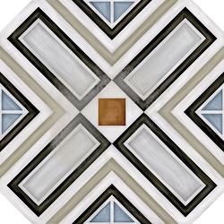 Octogono Musichalls Multicolor | Baldosas de suelo | VIVES Cerámica