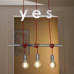 lampadari vesoi : ... in metallo-Lampade a sospensione-Idea barra sospensione-Vesoi