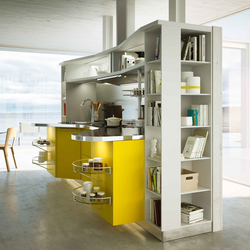 Skyline 2.0 giallo lemon | Fitted kitchens | Snaidero