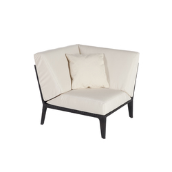 U corner modular part | Garden armchairs | Point
