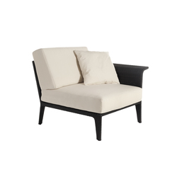 U corner modular part left arm | Garden armchairs | Point