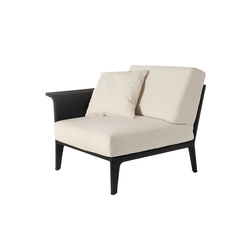 U corner modular part right arm | Garden armchairs | Point