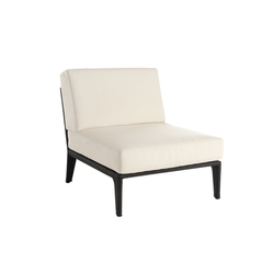 U center modular part | Garden armchairs | Point