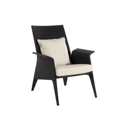 U high back armchair | Garden armchairs | Point