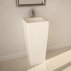Edith DADOquartz freestanding pillar basin | Wash basins | DADObaths
