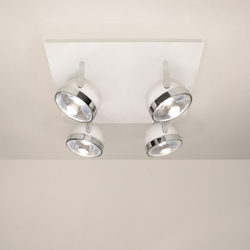 Boogie C4 Ceiling | Ceiling-mounted spotlights | Luz Difusión