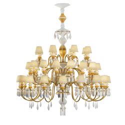 Belle de Nuit - Chandelier (gold) | Ceiling suspended chandeliers | Lladró