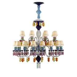 Belle de Nuit - Chandelier (multicolor) | Chandeliers | Lladró