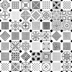 Octogono Variette Sombra | Piastrelle/mattonelle per pavimenti | VIVES Cerámica