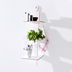 Hangup | Wall shelves | Müller Möbelwerkstätten