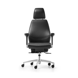 Shape executive Swivel chair | Sedie ufficio | Dauphin