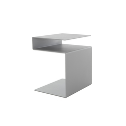 HUK silver | Side tables | Müller small living