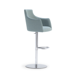 ALBERT ONE | SGSC ARM METAL | Bar stools | Accento