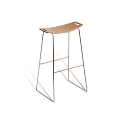 High end counter stools stackable on architonic for High end counter stools