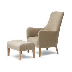 Pendel Armchair and Footstool | Lounge chairs | Pinch