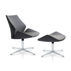 4+ Lounge chair & stool | Poltrone lounge | Züco