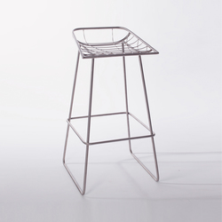 Winnow stool | Barhocker | Bombay Atelier