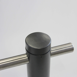 Public Bollard with guard rail | Bollards | BURRI