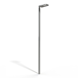 METRO light pole cylindric | Wallwasher LED | BURRI