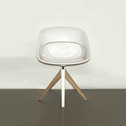 Diagonal Cross Legs Chair | Sedie | dutchglobe