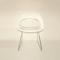 Diagonal Wire Chair | Visitors chairs / Side chairs | dutchglobe