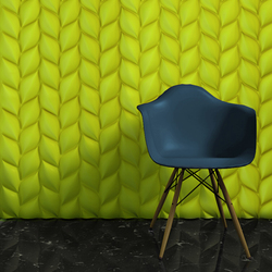 Treccia | Mineral panels | 3D Surface