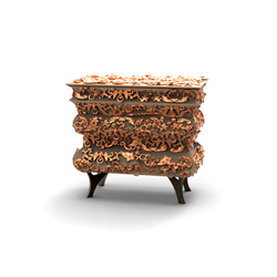 Crochet bedside table | Comodini | Boca do lobo