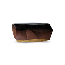 Diamond chocolate sideboard | Credenze | Boca do lobo
