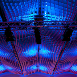 WAVE Acoustic absorber ceiling | Acoustic ceiling systems | Wave