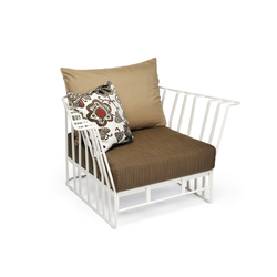 Hamptons Graphics 9731 armchair | Sillones | ROBERTI outdoor pleasure