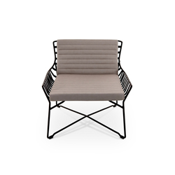 Hamptons Graphics 9733 armchair | Sessel | ROBERTI outdoor pleasure