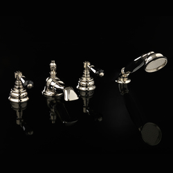 Antique Precious 4 hole bath set | Bath taps | Devon&Devon