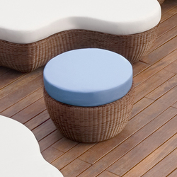 Les Iles 9596 pouff | Pufs | ROBERTI outdoor pleasure