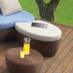 Les Iles 9598 pouff | Pufs | ROBERTI outdoor pleasure