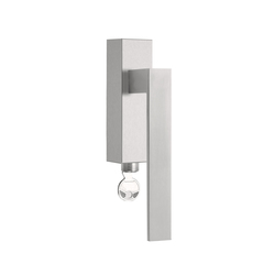 SQUARE LSQII-DKLOCK | Lever window handles | Formani