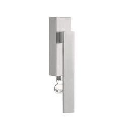 SQUARE LSQIICB-DKLOCK | Lever window handles | Formani
