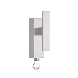 SQUARE LSQIIT-DKLOCK | Lever window handles | Formani