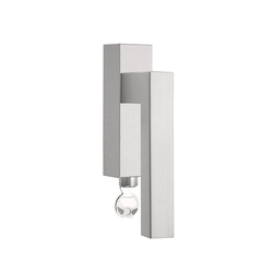 SQUARE LSQIII-DKLOCK | Lever window handles | Formani