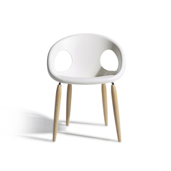Natural Drop | Visitors chairs / Side chairs | Scab Design