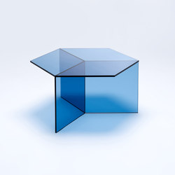 Isom Square - blue | Lounge tables | NEO/CRAFT