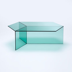 Isom Oblong - green | Lounge tables | NEO/CRAFT