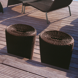 St. Tropez 9572 pouff | Pufs | ROBERTI outdoor pleasure
