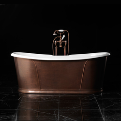 Camelot antique copper Bathtub | Free-standing baths | Devon&Devon