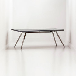 Carbon Table | inox steel | Escritorios individuales | Zieta