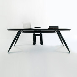 Carbon Table | black | Escritorios individuales | Zieta