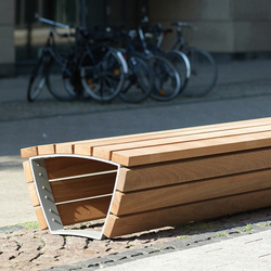 Cado corpus Stoolbench 3 m | Panche da esterno | Westeifel Werke