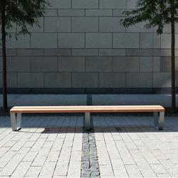 Cado Levis Stoolbench 3m | Exterior Benches | Westeifel Werke