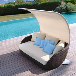 St. Tropez 9576 sofa | 9577 | Velas de sombra | ROBERTI outdoor pleasure