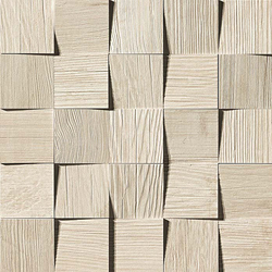 Axi White Pine Mosaico 3D | Baldosas de suelo | Atlas Concorde
