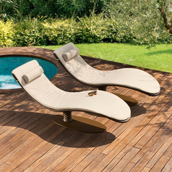 Caribe 9578 chaiselongue | Lettini giardino | ROBERTI outdoor pleasure